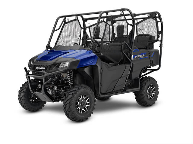 2019 Honda Pioneer 700-4 Deluxe | Diver Blue