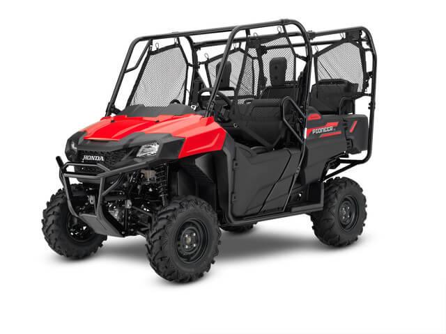 2019 Honda Pioneer 700-4 | Red