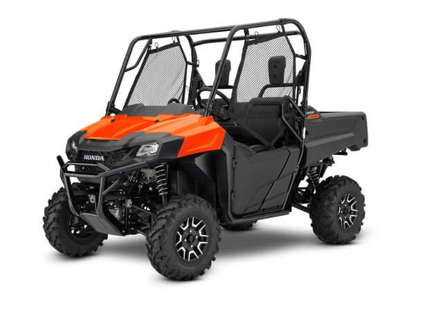 2019 Honda Pioneer 700 Deluxe | Pearl Orange