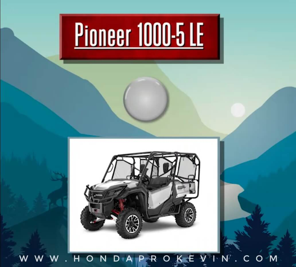 2019 Honda Pioneer 1000-5 LE Review / Specs   Price, Changes, Colors, Release Date + More!   Side by Side / UTV / SxS / ATV - Limited Edition