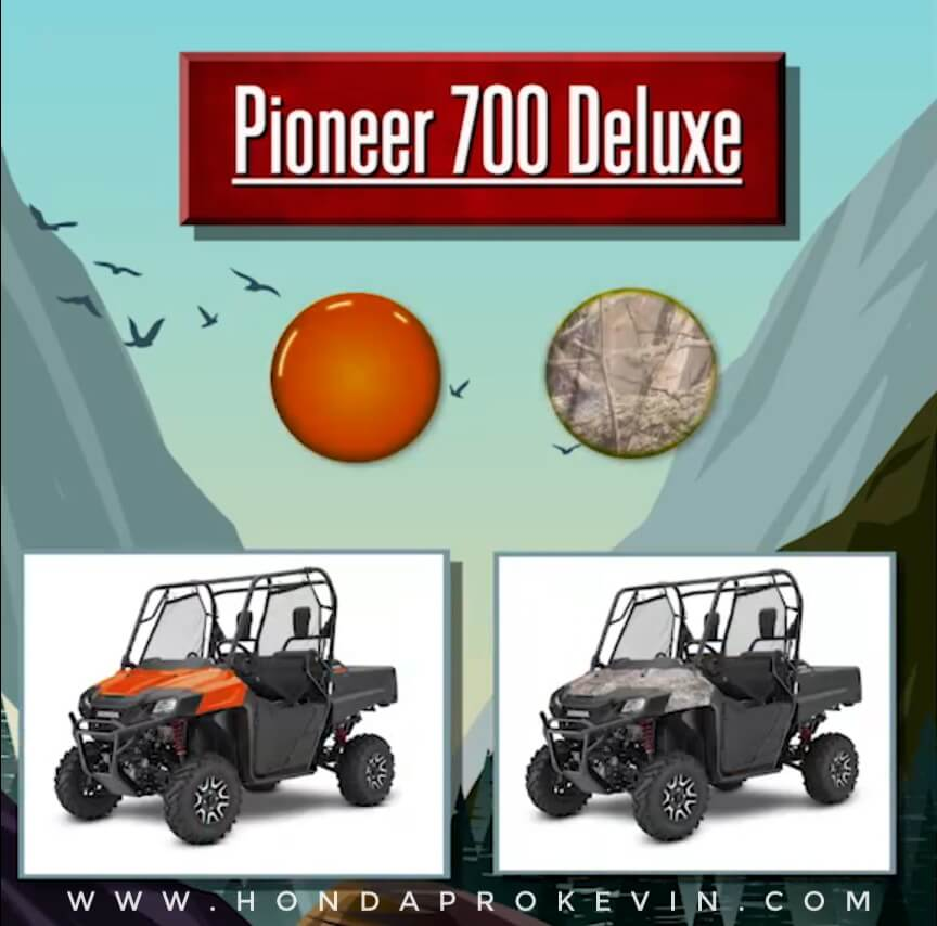 2019 Honda Pioneer 700 Deluxe Review / Specs   Price, Changes, Colors, Release Date + More!   Side by Side / UTV / SxS / ATV