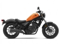 2019 Honda Rebel 300 Review / Specs: Bobber Motorcycle | Candy Orange CMX300