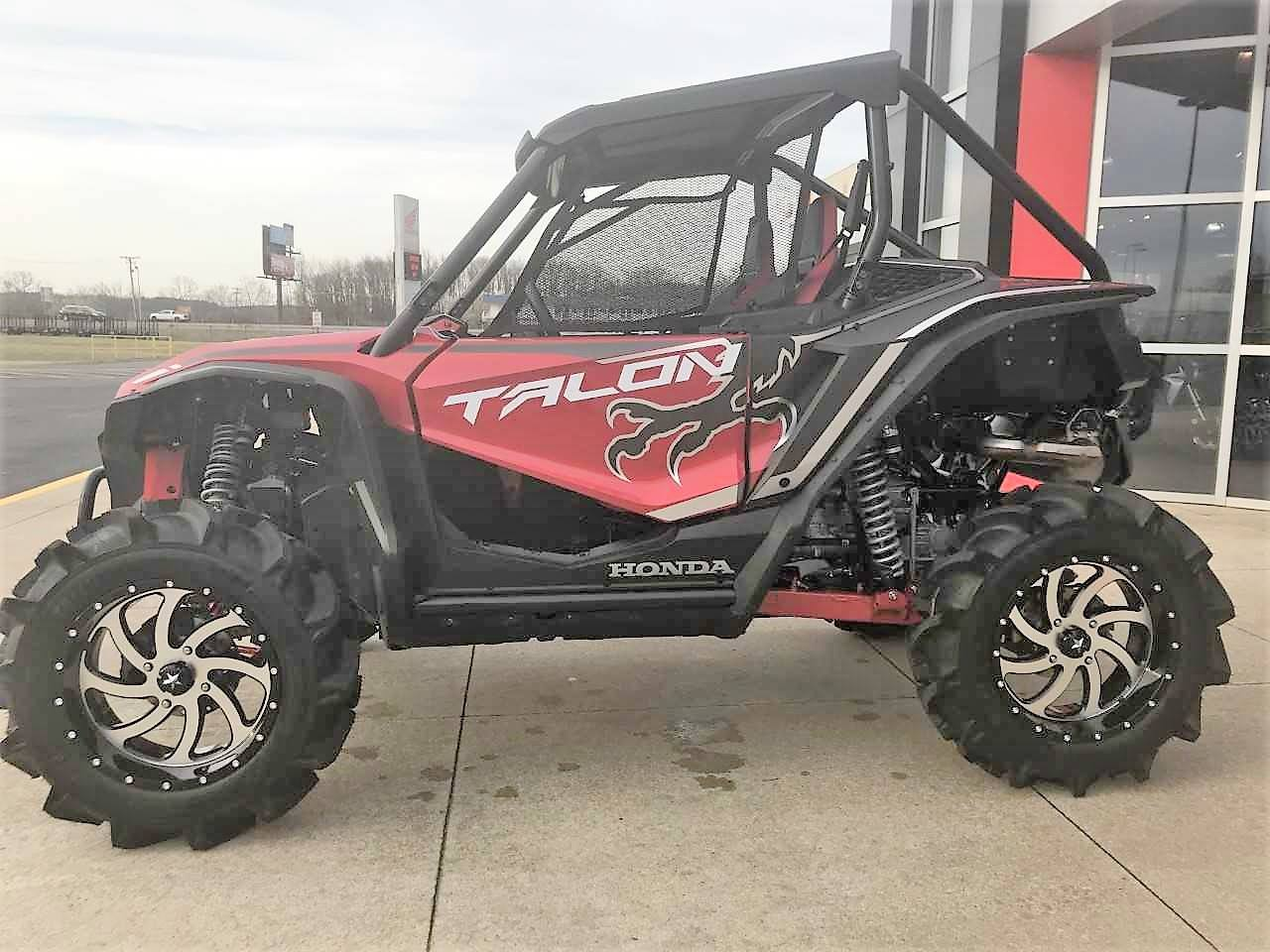 "Honda Talon 1000X 33"" BKT Mud Tires + 18"" MSA Wheels! | 2019 Honda TALON 1000 Sport SxS / Side by Side / UTV Wheel & Tire Size Guide"