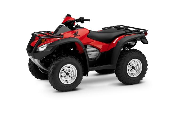 19 Honda FourTrax Rincon red