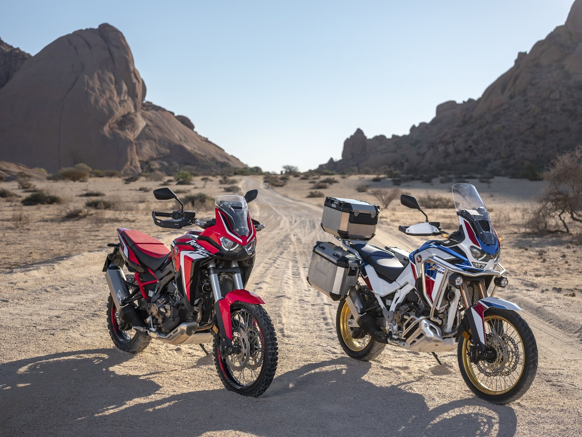 2020 Honda Africa Twin 1100 Adventure Motorcycle Models / Model Lineup