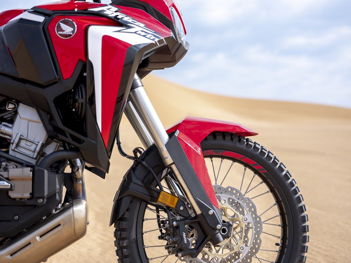 2020 Africa Twin Front Suspension