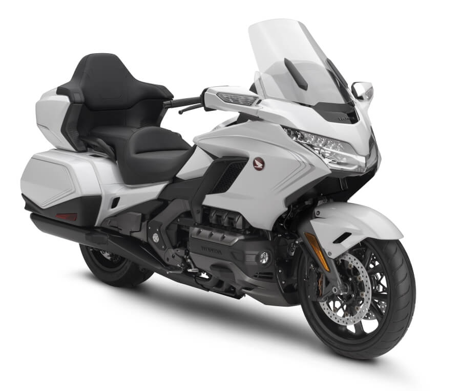 2020 Honda Gold Wing Tour Review / Specs + NEW Changes Explained - Pearl Glare White GL1800D