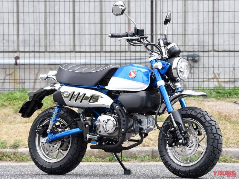 2020 Honda Monkey 125 Review / Specs - NEW BLUE Color!
