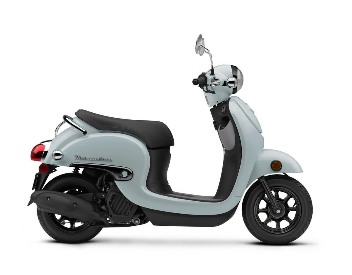2020 Honda Metropolitan Review / Specs / Changes   49 / 50 cc Automatic Scooter / Motorcycle