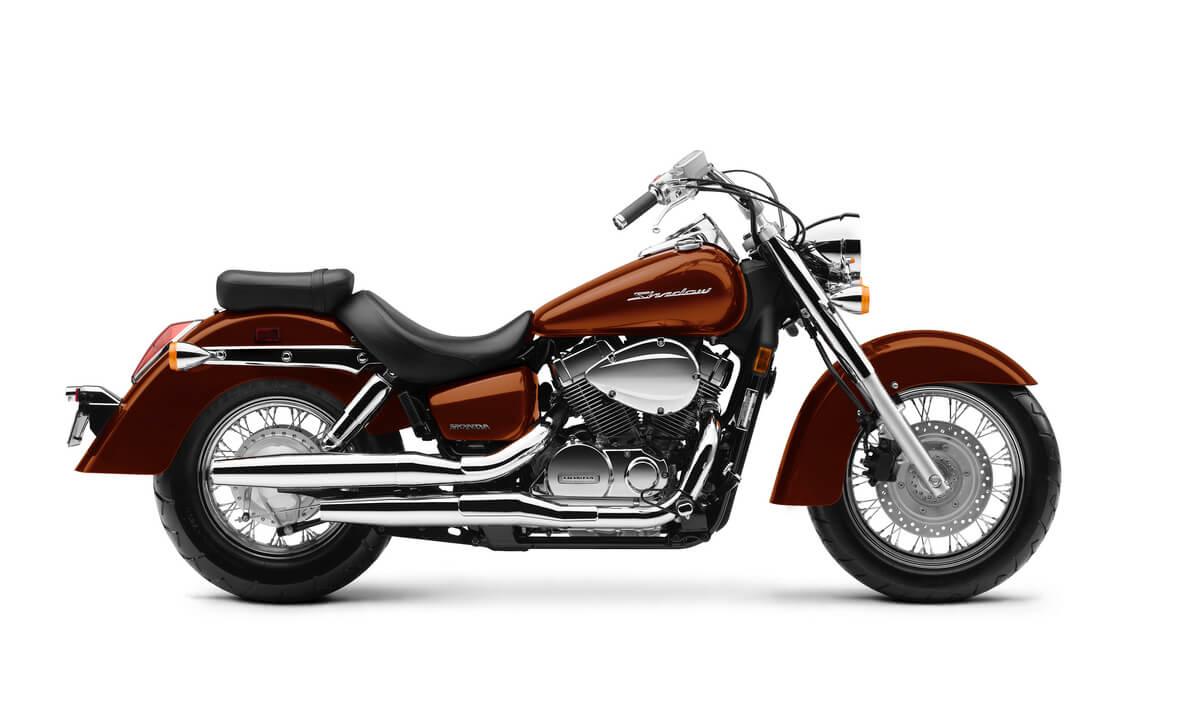 2020 Honda Shadow Aero 750 Review / Specs / Changes (VT750C)   Cruiser Motorcycle   Pearl Stallion Brown, Black