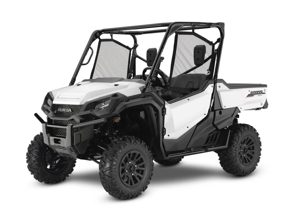 2020 Honda Pioneer 1000 Deluxe White Review / Specs + NEW Changes Explained | Side by Side / SxS / UTV / Utility Vehicle