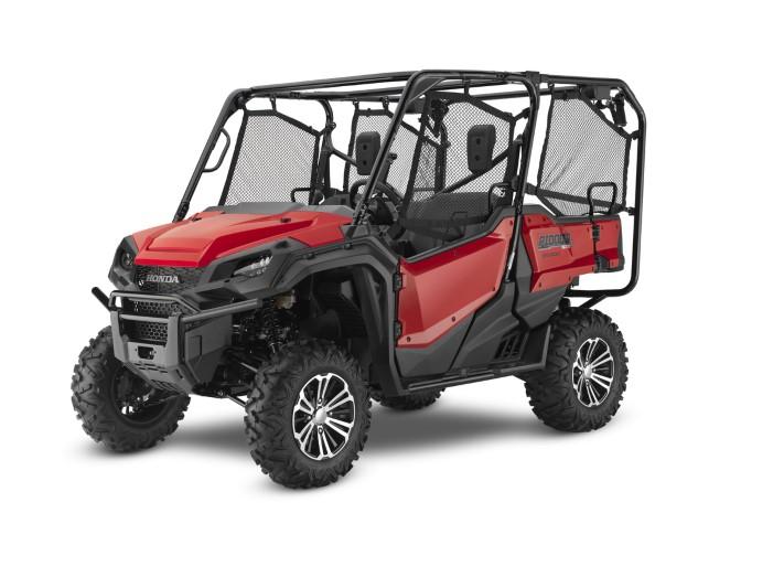 2020 Honda Pioneer 1000-5 DLX EPS Phantom Red