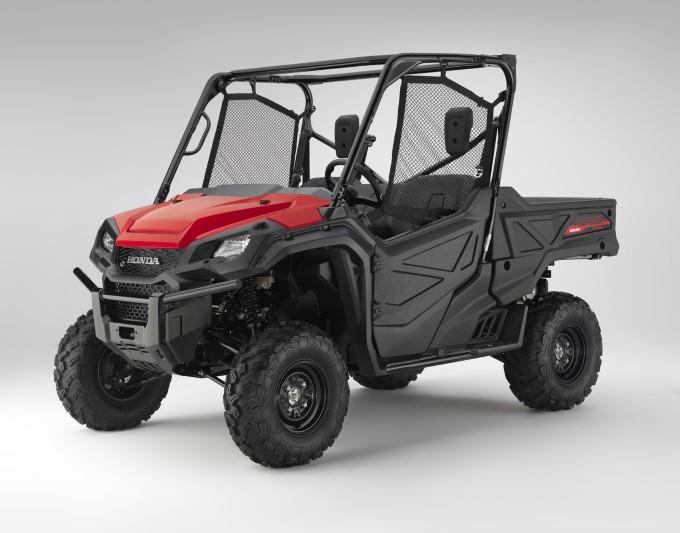 2020 Honda Pioneer 1000 Red