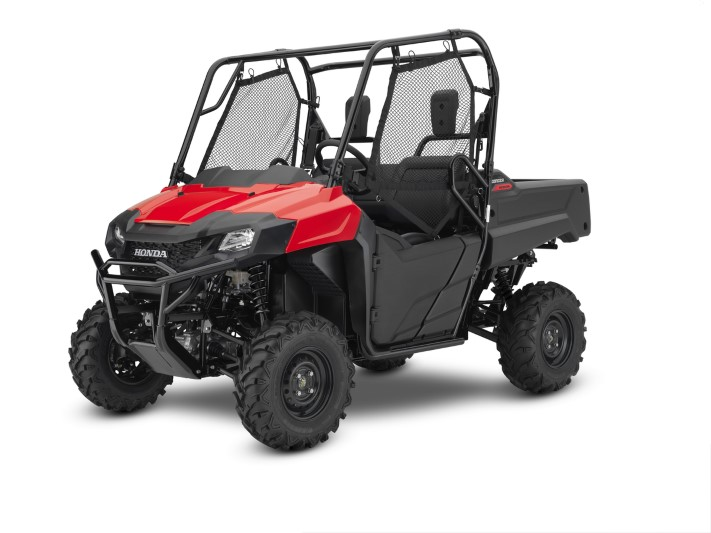 2020 Honda Pioneer 700 Red