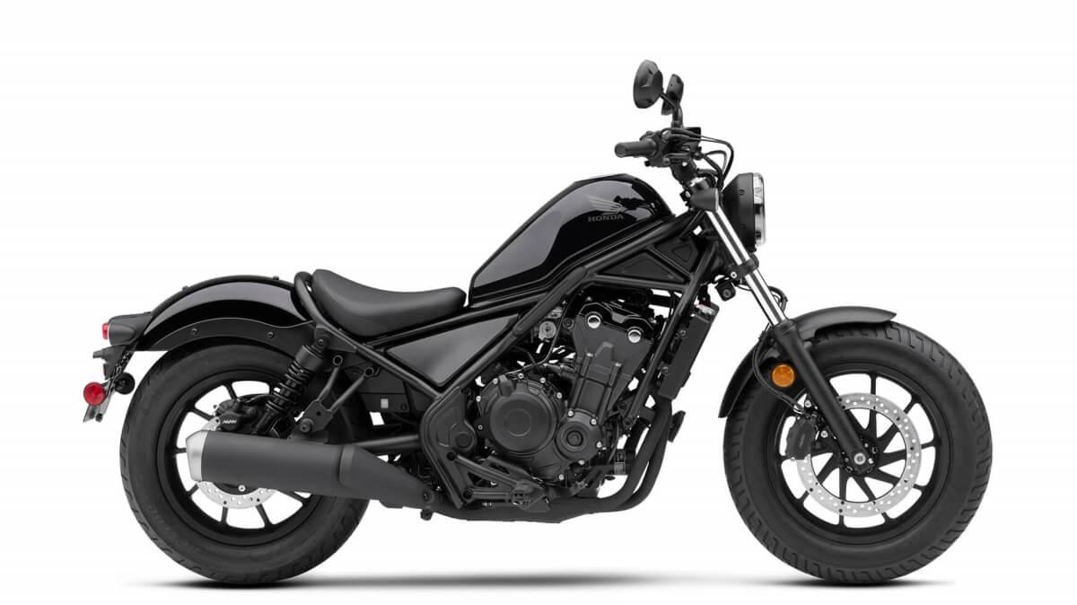 2020 Honda Rebel 500 Review / Specs + New Changes Explained | Graphite Black