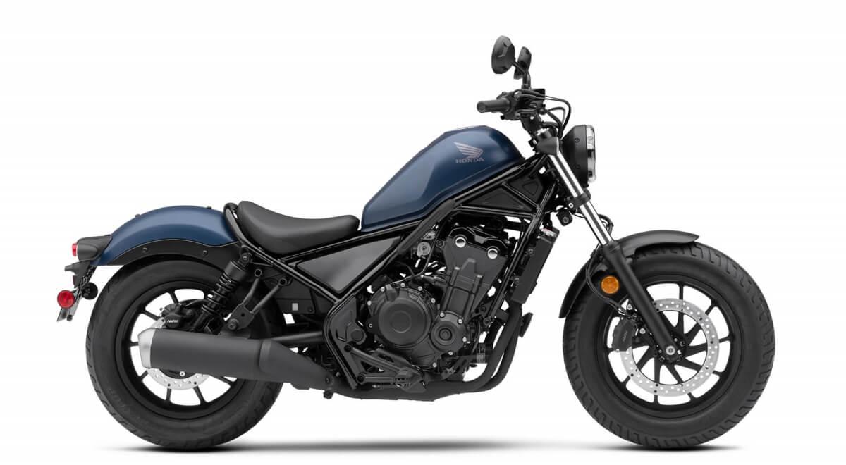 2020 Honda Rebel 500 Review / Specs + New Changes Explained | Matte Blue Jeans Metallic
