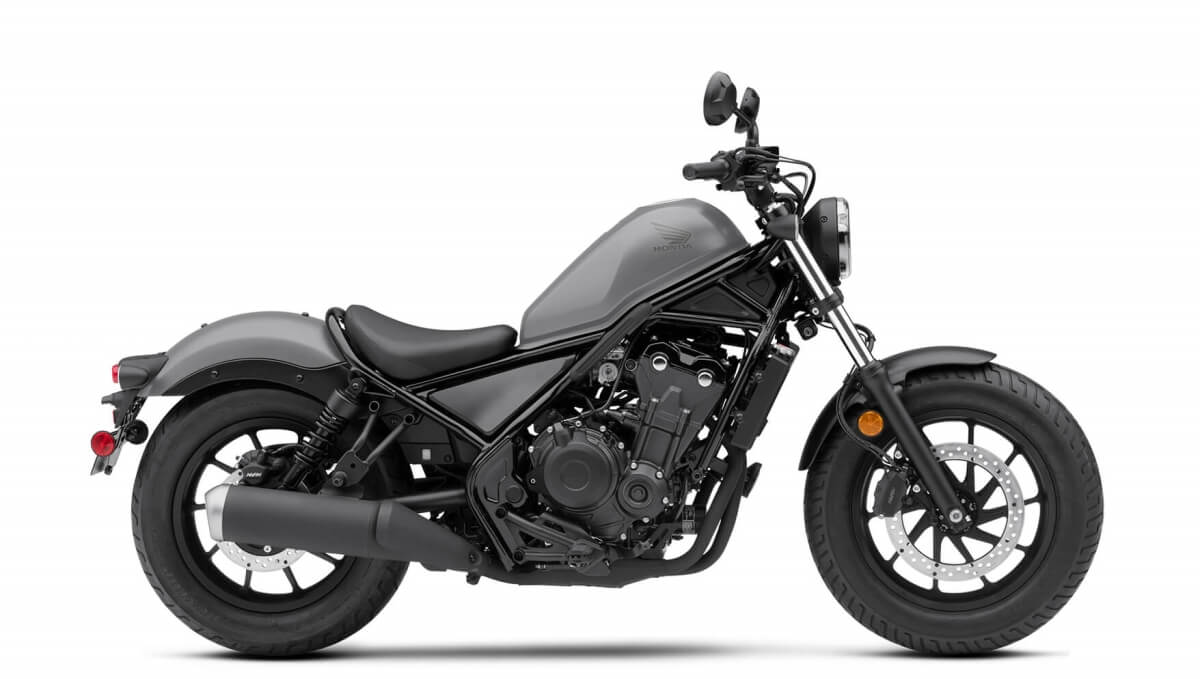 2020 Honda Rebel 500 Review / Specs + New Changes Explained | Matte Armored Silver