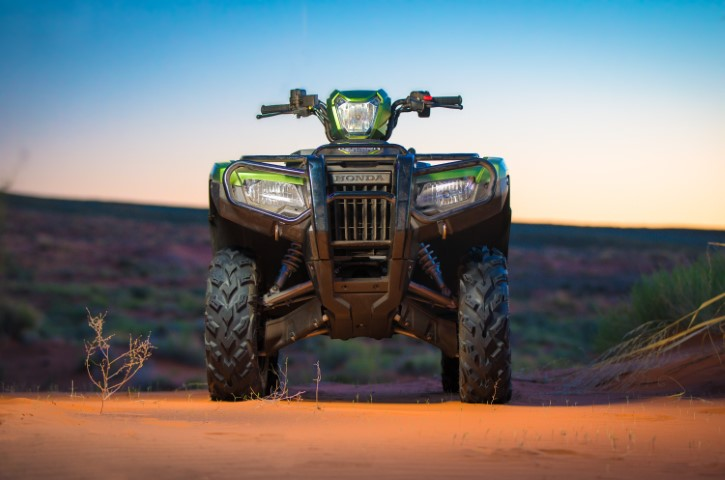 2020 Honda Rubicon DELUXE 520 ATV Review / Specs