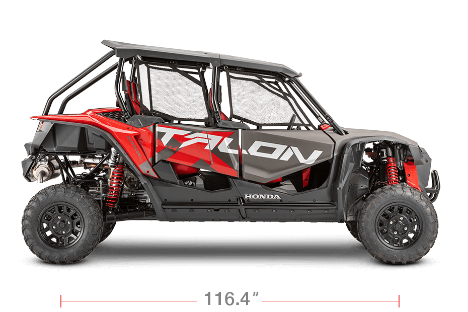 2020 Honda TALON 1000 X 4-Seater Wheelbase / Length | Dimensions & Measurements