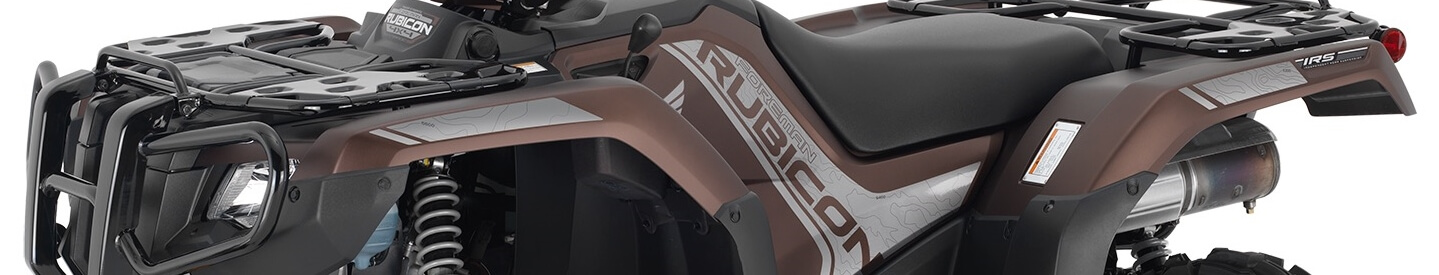 2021 Honda Rubicon 520 Deluxe DCT / EPS ATV Review + Specs | Matte Molasses Brown