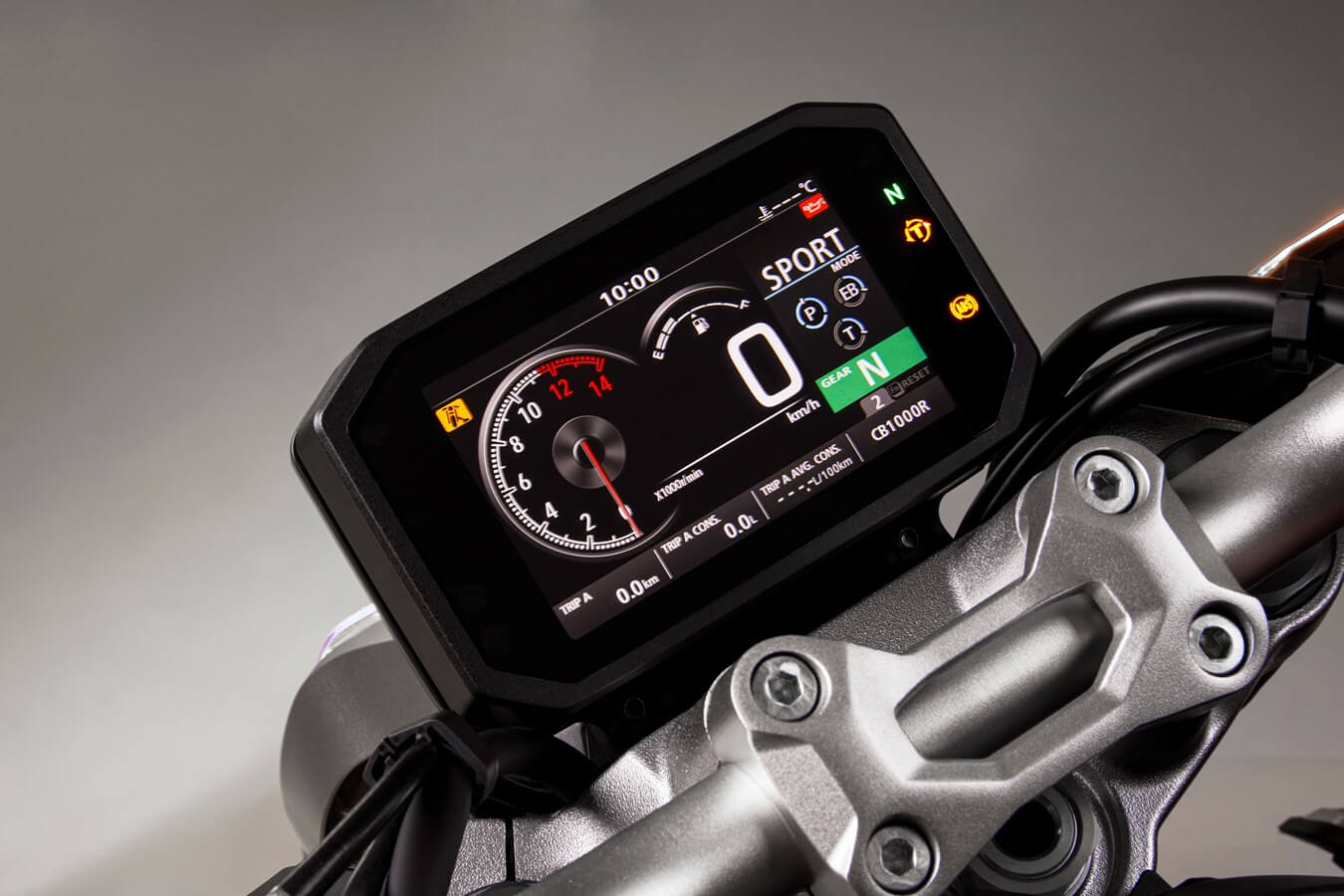 2021 Honda CB1000R Gauges & Display Review / Specs | Neo Sports Cafe CB 1000R