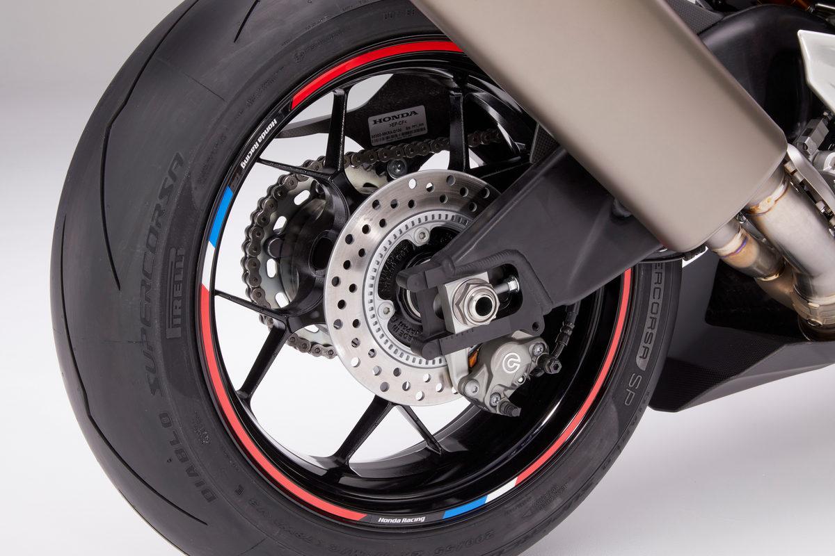 21 Honda CBR1000RR-R Fireblade SP wheel stripe accessory rear wheel