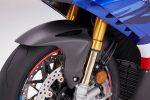 2021 Honda CBR1000RR-R Fireblade SP carbon fiber front fender accessory installed