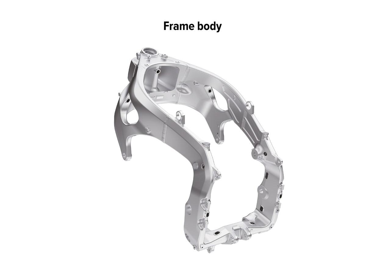 2021 HONDA CBR1000RR-R FIREBLADE Frame body / Chassis