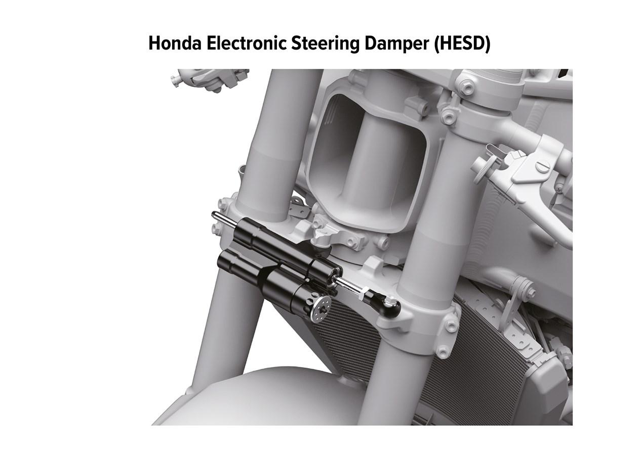 2021 HONDA CBR1000RR-R FIREBLADE HESD - Electronic Steering Damper