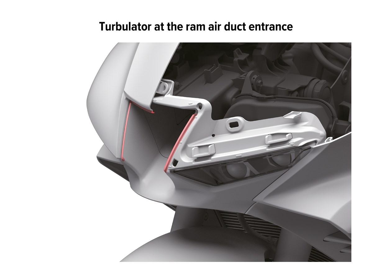 2021 HONDA CBR1000RR-R FIREBLADE Ram Air Duct / Intake