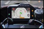 2021 Honda CBR1000RR-R Fireblade SP display 2