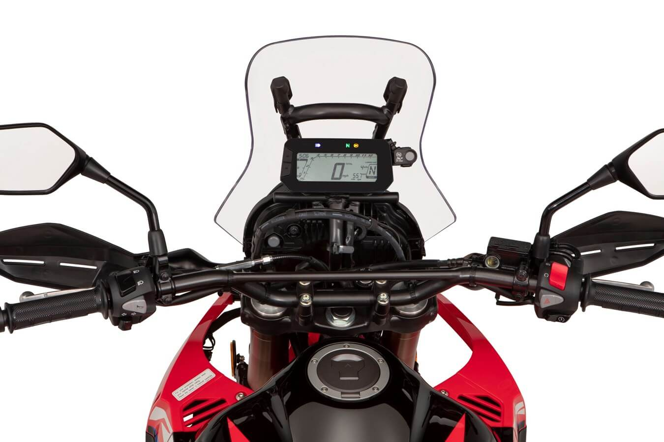 2021 Honda CRF300L Rally Gauges / Speedometer Display | Review / Specs + NEW Changes Explained on this 300 cc Dual Sport CRF Motorcycle!