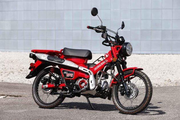2021 Honda CT125 Hunter Cub Aftermarket Parts & Accessories