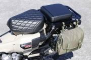 2021 Honda CT125 Hunter Cub Saddlebags and Seat