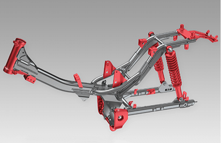 2021 Honda Trail 125 / CT125 Frame & Chassis