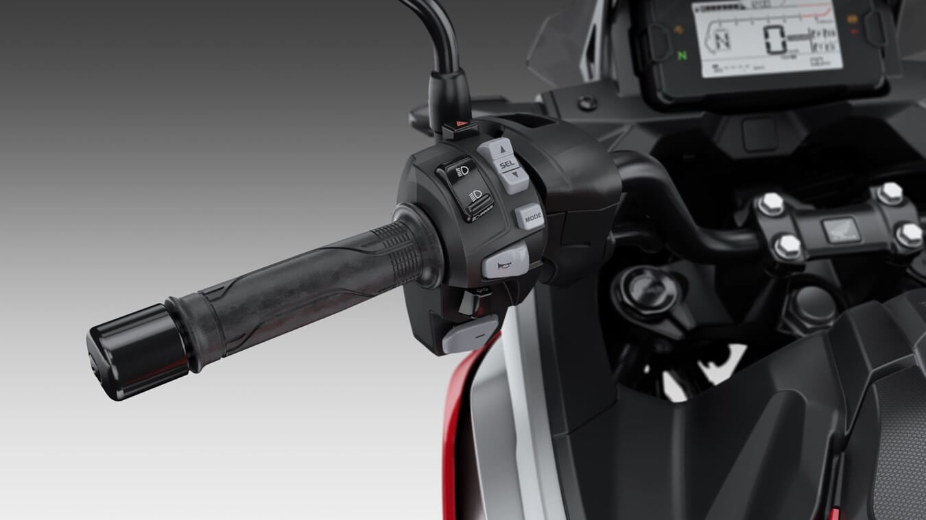 2021 Honda NC750X DCT Automatic Handlebar Controls Review / Specs | 750 cc Adventure Motorcycle with DCT Automatic Transmission