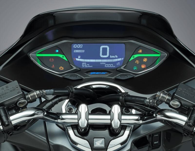 2021 Honda PCX Scooter Review / Specs | New Gauges