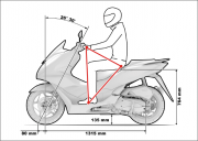 2021 Honda PCX Scooter Riding Position Changes