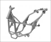 2021 Honda PCX Scooter Frame / Chassis Changes