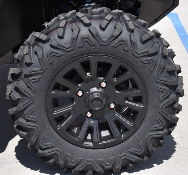 "2021 Honda Pioneer 1000 & 1000-5 Deluxe Wheels / Tires | 14"" Aluminum Wheel & 27"" Maxxis Big Horn 2.0 Tires (Front)"