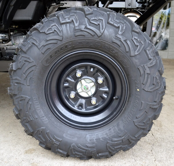 "2021 Honda Pioneer 1000 & 1000-5 Wheels / Tires | 12"" Steel Wheels & 27"" OTR Tires (Rear)"