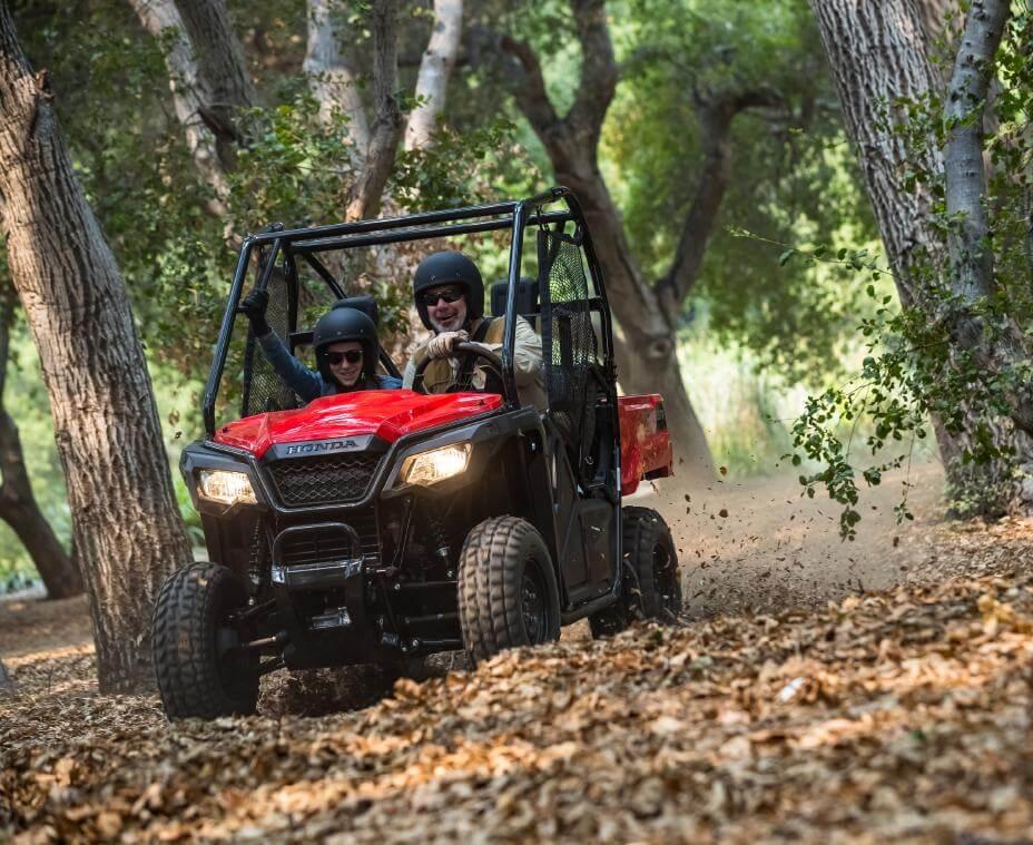 2021 Honda Pioneer 520 Drive / Ride Review & Specs | 50 inch Side by Side / UTV / SxS / ATV Models