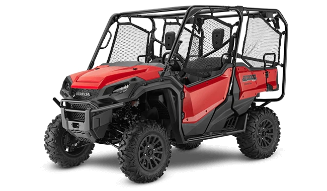2021 Honda Pioneer 1000-5 Deluxe (Red) | Review / Specs (SXS10M5D)