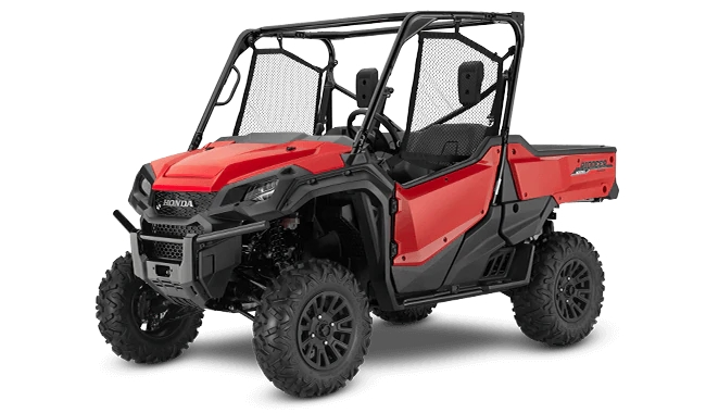 2021 Honda Pioneer 1000 Deluxe (Red)| Review / Specs (SXS10M3D)