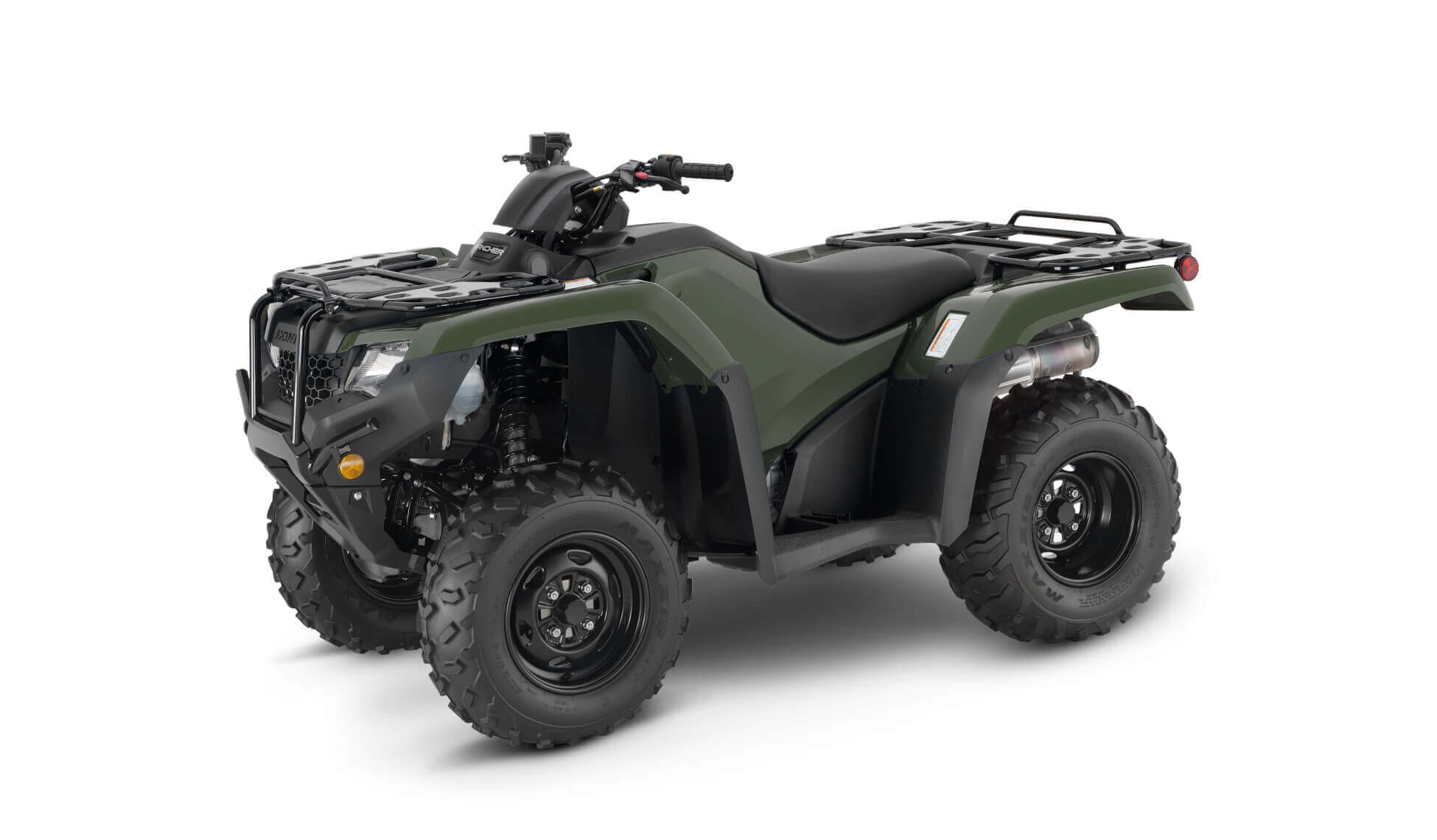 2021 Honda Rancher 420 4x4 ATV | TRX420FM1 Review & Specs