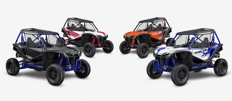 2021 Honda Talon 1000 Model Lineup Review / Specs | 2021 Talon 1000R, 1000X, 1000R FOX Live Valve, 1000X FOX Live Valve