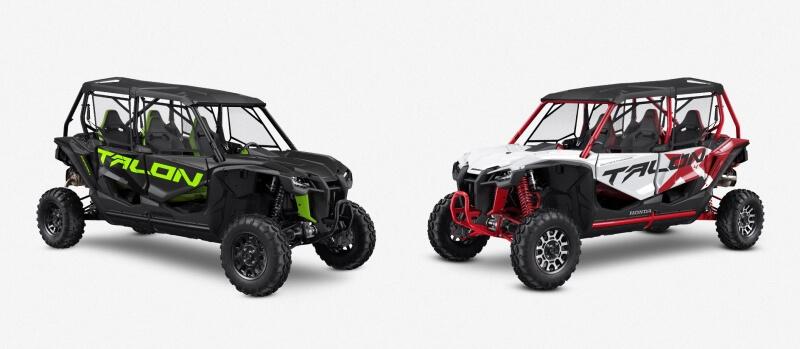 2021 Honda Talon 1000X-4 Model Lineup Review / Specs | 2021 Talon 1000 4-seater Models and FOX Live Valve