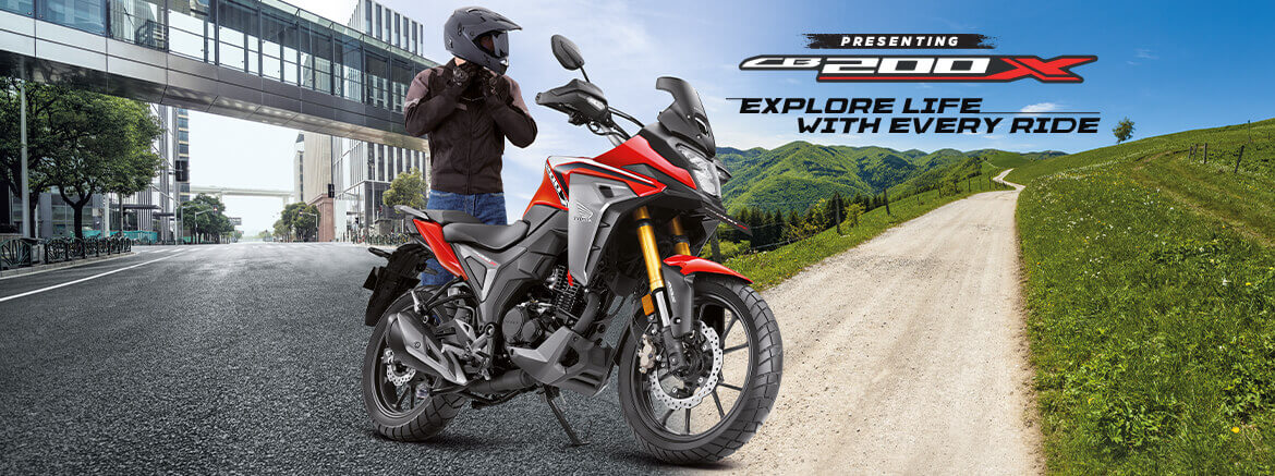 NEW 2022 Honda CB200X Adventure Touring Motorcycle Released