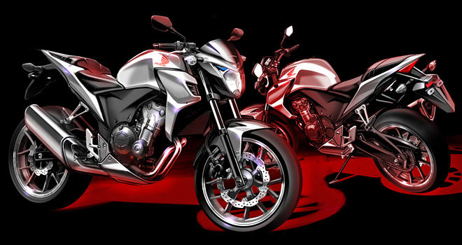 Honda 500 Naked Motorcycle Concept / Prototype Bike - CBR500R / CB500X / CB500F