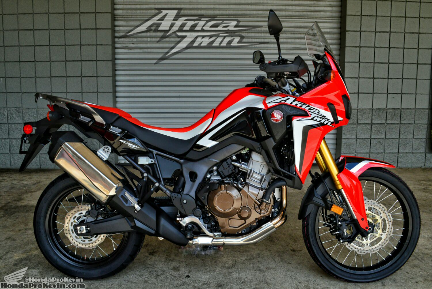 2016 Honda Africa Twin CRF1000L Adventure Motorcycle / Bike - Specs, Horsepower & Torque, Release Dates, Prices, Accessories